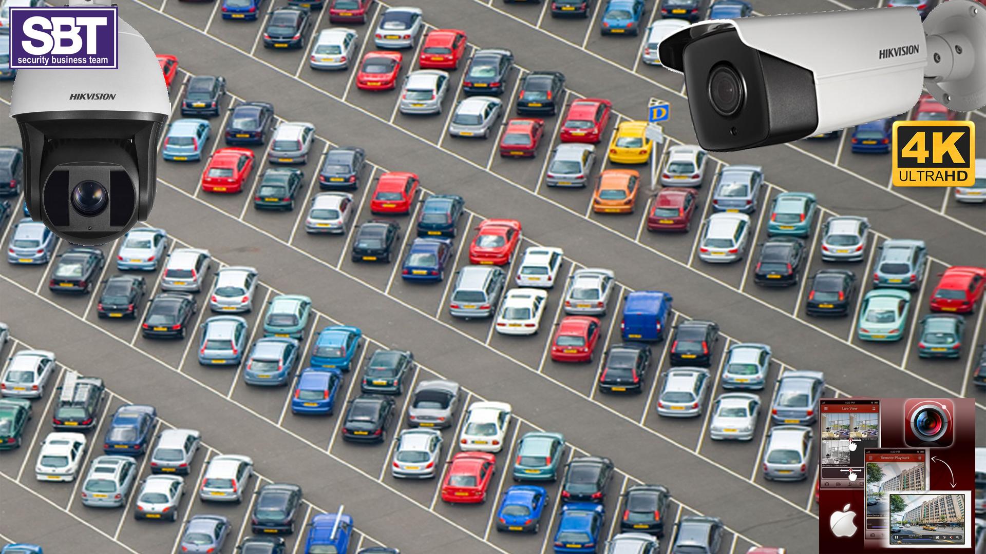 Supraveghere video parcare-SBT